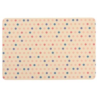 Retro Polka Dot Floor Mat