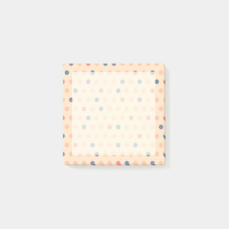 Retro Polka Dot Post-it Notes