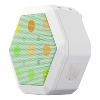 Retro Polka Dots Digital Art Premium Speaker