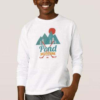 Retro Pond Youth Hockey T-Shirt