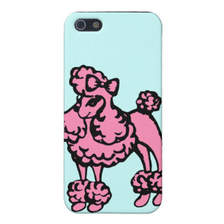 Retro Poodle iPhone Case Case For iPhone 5/5S