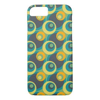 Retro Pop Circles Pattern #4 iPhone 7 Case