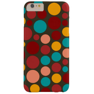 Retro Pop Polka Dot Pattern #11 Barely There iPhone 6 Plus Case