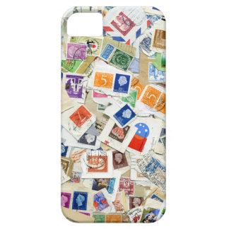 Retro Postage Stamp Collage iPhone 5 Case