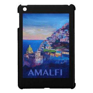 Retro Poster Amalfi Coast italy Cover For The iPad Mini