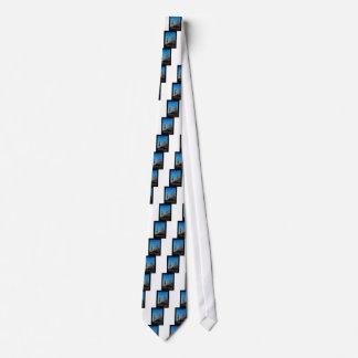 Retro Poster Barcelona Tie
