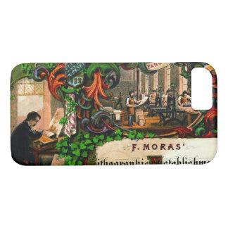 Retro Printing Ad 1867 iPhone 8/7 Case