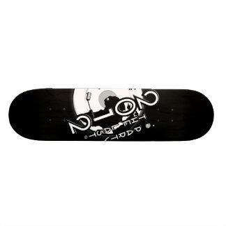 "RETRO - Pro SkateBoard Black - ""2012THELASTPARTY"""