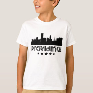 Retro Providence Skyline T-Shirt