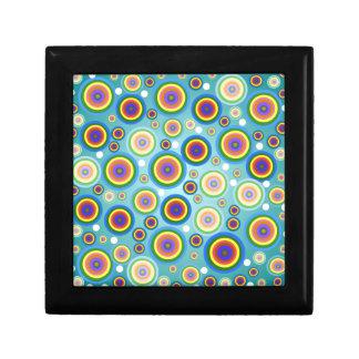 Retro Psychedelic Circles Gift Box
