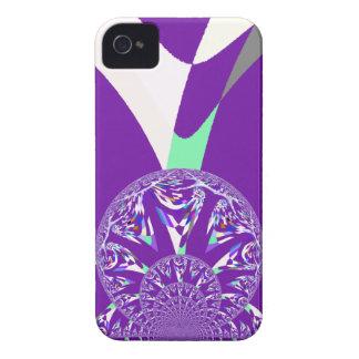 Retro purple iPhone 4 cases