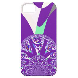 Retro purple iPhone 5 case