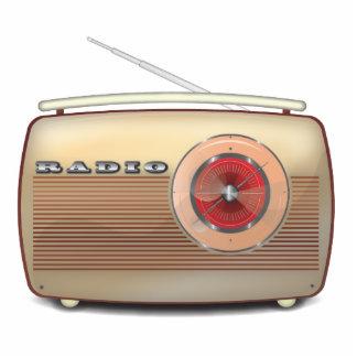 Retro Radio Classic Standing Photo Sculpture