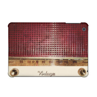 Retro radio iPad mini case
