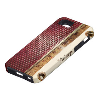 Retro radio iPhone 5 case