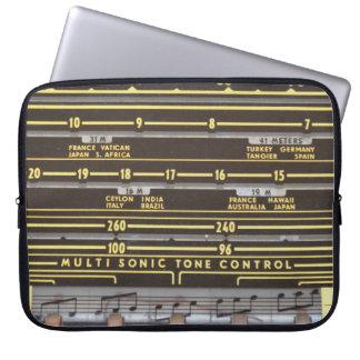 Retro Radio Laptop Sleeves