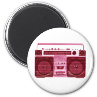 retro radio magnet