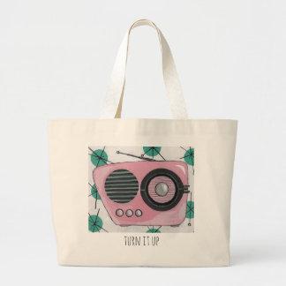 Retro Radio Tote