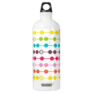 Retro Rainbow Circles Pattern SIGG Traveller 1.0L Water Bottle