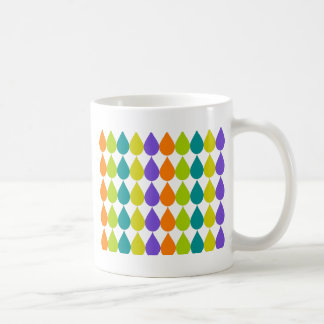 Retro Raindrops3 Coffee Mug
