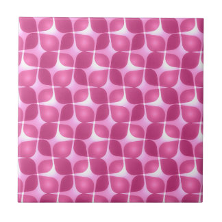 Retro Raspberry Ceramic Tile