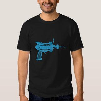 Retro Ray Gun in Light Blue Tee Shirts