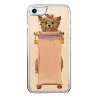 RETRO REBEL Dog iPhone 5/5S Slim Wood Carved iPhone 7 Case