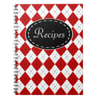 Retro Recipe Kitchen Notebook Gift