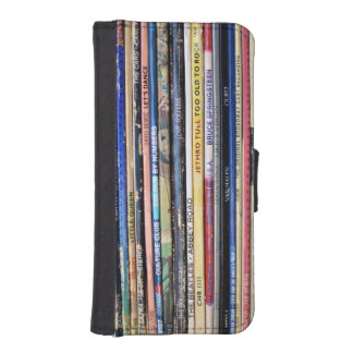 Retro Record Album iPhone 5/5s wallet case