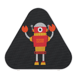 Retro Red Robot