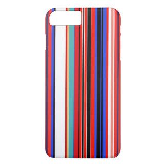 Retro Red Stripes iPhone 8 Plus/7 Plus Case