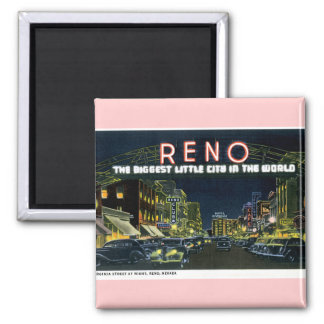 Retro Reno Magnet