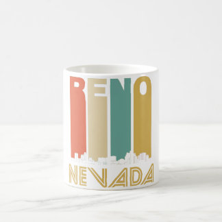 Retro Reno Nevada Skyline Coffee Mug