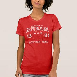 Retro Republican Election Team 1984 Tees