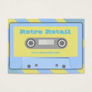 Retro Retail Business Cards