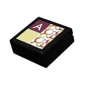 Retro Rings Pattern Jewelry Boxes