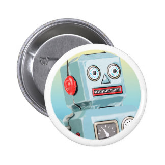 Retro Robot Button