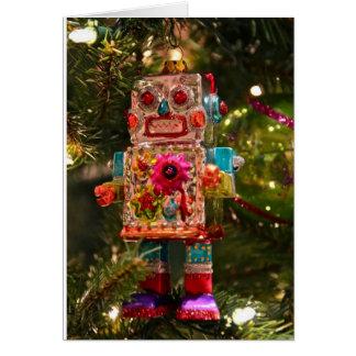 Retro Robot Greeting Card