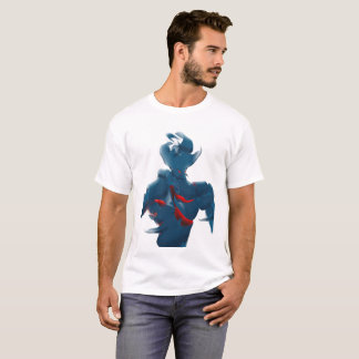 Retro Robot Inspired T Shirt