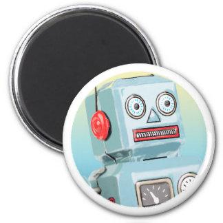 Retro Robot Magnet