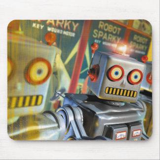 Retro Robot Mouse Pad