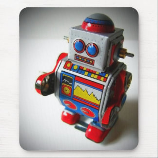 Retro Robot mousepad