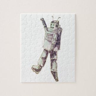 retro robot jigsaw puzzles