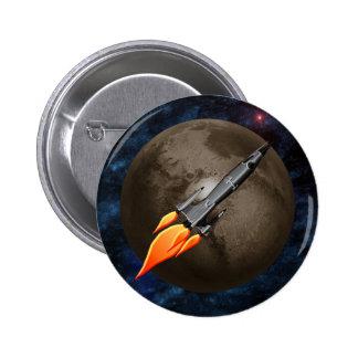 Retro Rocket Button