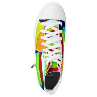 Retro Rocket Twister Ice High Tops