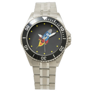 Retro Rocket Watch