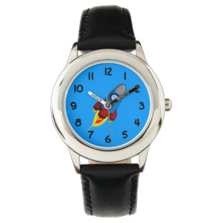Retro Rocket Wrist Watches