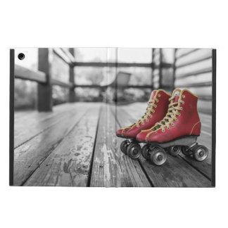 Retro roller skates iPad air covers