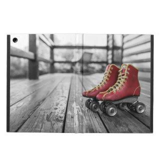 Retro roller skates case for iPad air