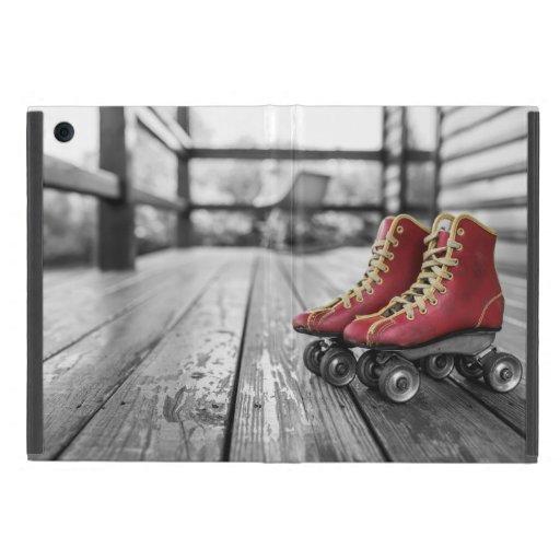 Retro roller skates case for iPad mini